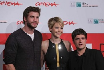 Festival di Roma 2013 Hunger Games La ragazza di fuoco red carpet Jennifer Lawrence