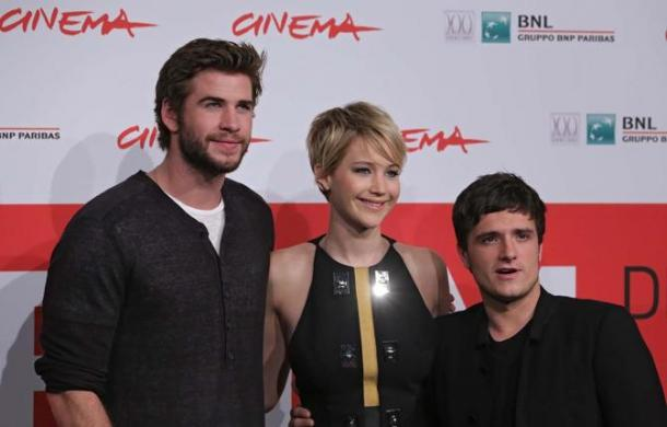 Festival di roma 2013 hunger games la ragazza di fuoco red carpet