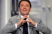 Matteo Renzi verso palazzo Chigi