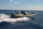 In barca nel mare di Nettuno