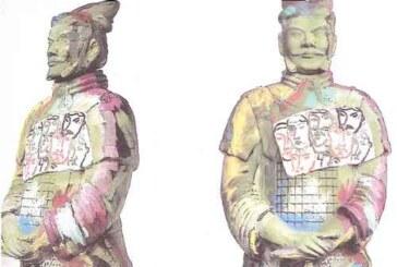 I guerrieri di Xian secondo Sandro Chia