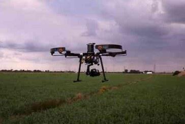 Droni in azione per pulire l'aria