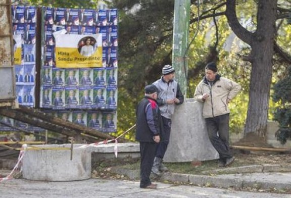 Si vota in Moldavia per il presidente