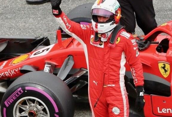 La pioggia tradisce Vettel